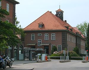 Alsterdorf - View of the state police school.