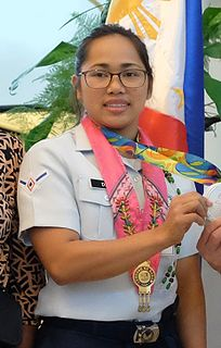 Hidilyn Diaz Filipino weightlifter and airwoman