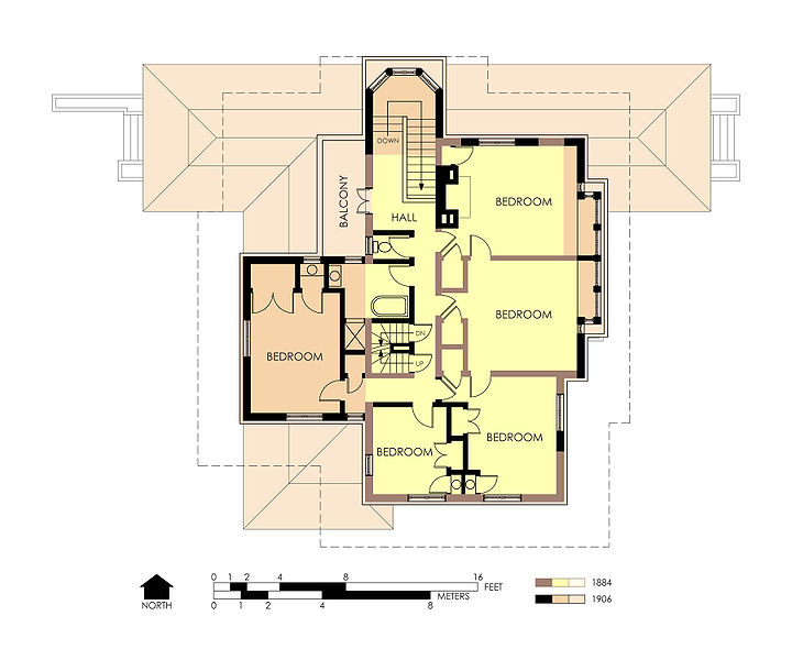 File hills decaro house second floor plan for 2nd floor house design