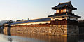 Hiroshima Castle at dawn. Hiroshima, Hiroshima Prefecture, Japan.jpg