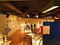 Historic bicycles at the U.S. Cycling Hall of Fame.jpg