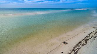 Isla Holbox - Sandbank in Holbox