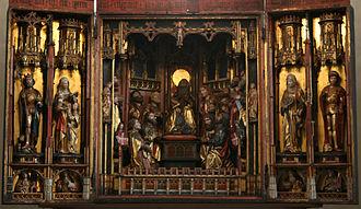 Church of the Holy Spirit, Tallinn - Image: Holy Ghost Tallinn Notke