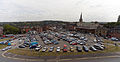 Holywell St car park .aka The Doughnut Roundabout. Chesterfield (5978042673).jpg