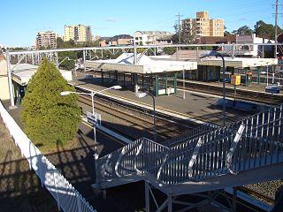 Homebush railway station railway station in Sydney, New South Wales, Australia