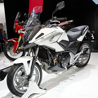 Honda NC700 series - NC750X at the 2016 Auto China