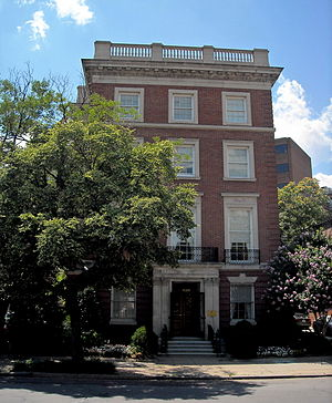 Foreign relations of Hong Kong - Hong Kong Economic and Trade Office in the Dupont Circle neighbourhood of Washington, D.C.