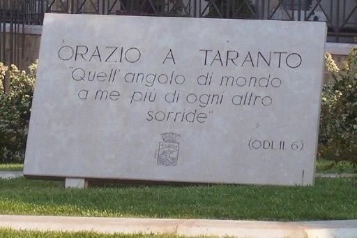 Horace Taranto Plate
