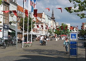 Horsens - A pedestrian zone