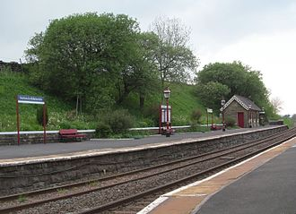 Settle–Carlisle line - Horton-in-Ribblesdale station