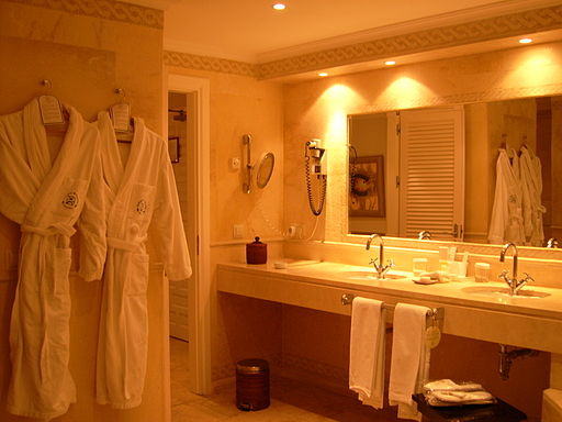 Hotel Suite - Bathroom