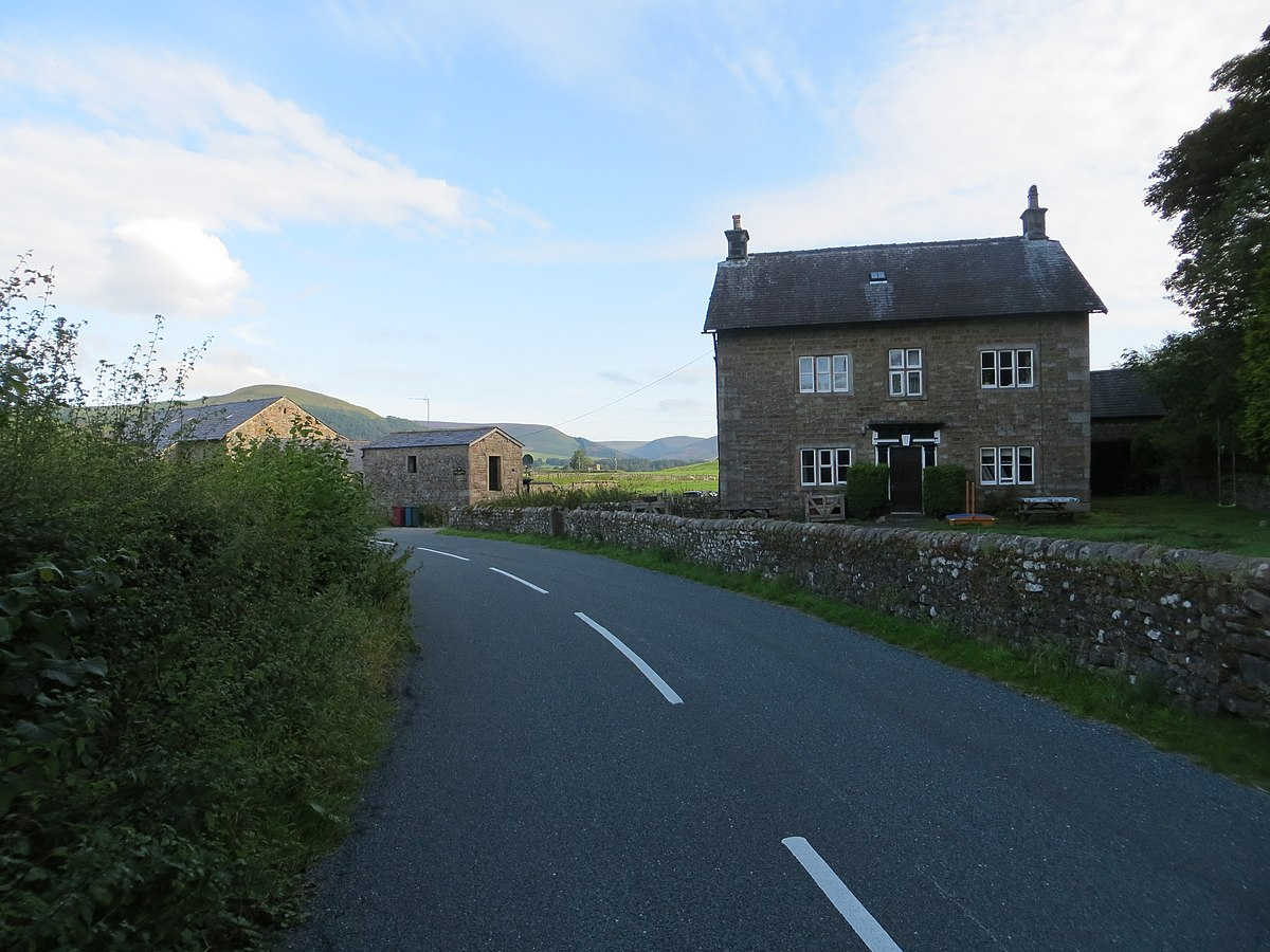 House and Road at Higher Whitewell (geograph 4130949).jpg