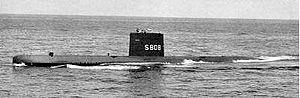 Dolfijn-class submarine - Image: Hr. Ms. Dolfijn (1960) 1