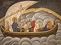 Hrist utišava buru na moru, manastir Gračanica.jpg