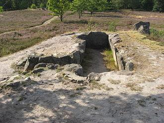 Oldendorfer Totenstatt - Chamber of site IV