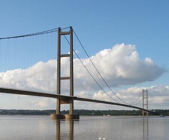 Humber Bridge - The Humber Bridge, Lincolnshire/East Yorkshire
