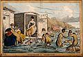 Humorous image of society ladies trying to swim, Brighton. C Wellcome V0012256.jpg