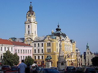 Adolf Lang - Pécs City Hall
