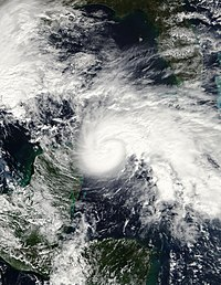 Hurricane Ida in the Yucatan Channel November 8 2009.jpg