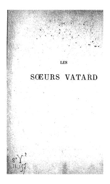 File:Huysmans - Les Sœurs Vatard, Charpentier, 1880.djvu