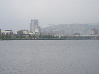 Herøya - Norsk Hydro industry park on Herøya