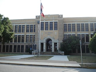 I.M. Terrell High School - Site of former I.M. Terrell High School as of 2013.