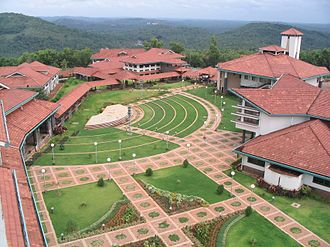 Indian Institute of Management Kozhikode - Aerial view of IIM Kozhikode campus