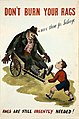 INF3-223 Salvage Don't burn your rags - save them for salvage (boy with a guy) Artist Fougasse.jpg