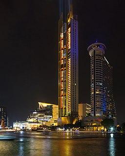 Iconsiam mixed-use development in Bangkok, Thailand
