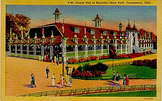 Idora Park (Youngstown) - The Dance Hall at Idora Park, c. 1935