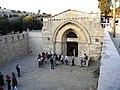 Ierusalim, Muntele Maslinilor, Biserica Mormantul Maicii Domnului (exterior 6).jpg