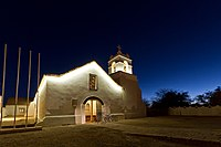San Pedro de Atacama Church at sunsetAuthor: Eduardo Banderas G.