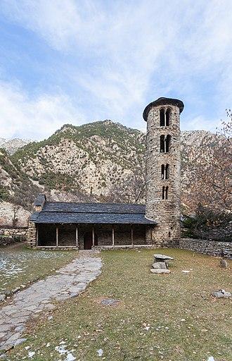 Santa Coloma d'Andorra - Image: Iglesia de Santa Coloma de Andorra, Santa Coloma, Andorra, 2013 12 30, DD 01