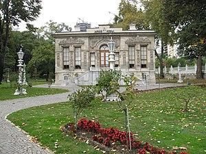 Ihlamur Palace - Image: Ihlamur Palace Court Pavilion 02
