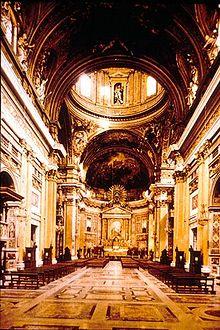 Chiesa del ges wikipedia - Design degli interni roma ...