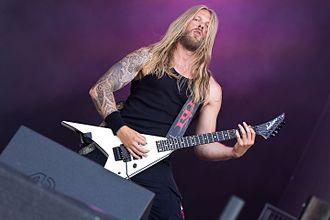 Illdisposed - Guitarist Ken Holst at the Rockharz 2016