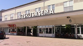 Imatra Town in South Karelia, Finland