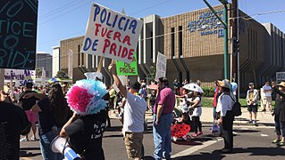 Immigrant Rights Protesters at Phoenix Pride 2017-1.jpg