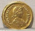 Impero d'occidente, valentiniano III, emissione aurea, 425-455, 01.JPG