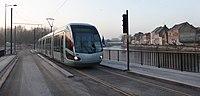 Inauguration de la branche vers Vieux-Condé de la ligne B du tramway de Valenciennes le 13 décembre 2013 (022).JPG