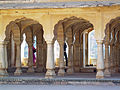 India - Jaipur2 - 015 - Ministers seating area in the public audience square (2178518907).jpg