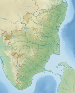 India Tamil Nadu relief map.png