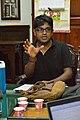 Indrajit Das Speaks - Wikimedia Meetup - St Johns Church - Kolkata 2016-09-10 9395.JPG