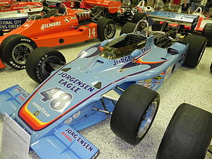 1975 Indianapolis 500 - Image: Indy 500winningcar 1975