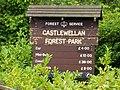 Information at Castlewellan forest 2009 - geograph.org.uk - 1402850.jpg