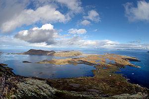 Måsøy - View of Ingøya