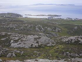Vue d'Inishbofin.