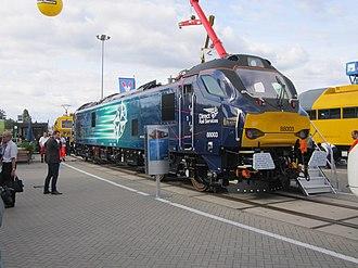 Carlisle Kingmoor TMD - Image: Inno Trans 2016 – DRS Class 88 (29818726855)