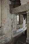 interieur, souterrain, rechter zijgevel bij overgang van voor- naar middenvertrek - schiedam - 20338093 - rce