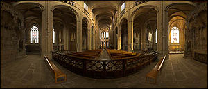 Limoges Cathedral - Image: Interieur de la cathedrale 1